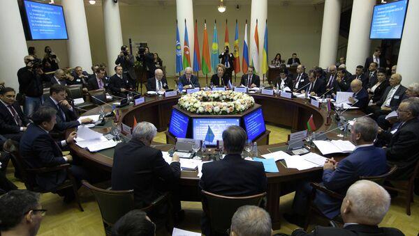 Заседание Совета Межпарламентской Ассамблеи СНГ. Архивное фото