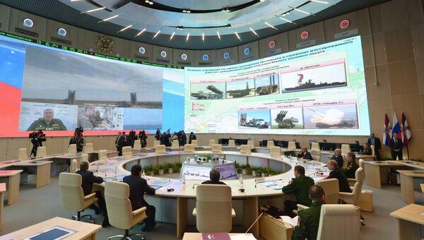 Национальный центр управления обороной РФ. Архивное фото