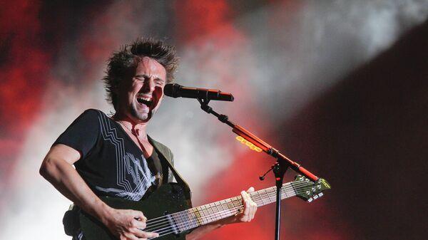 Фронтмен группы Muse Мэттью Беллами. Архивное фото