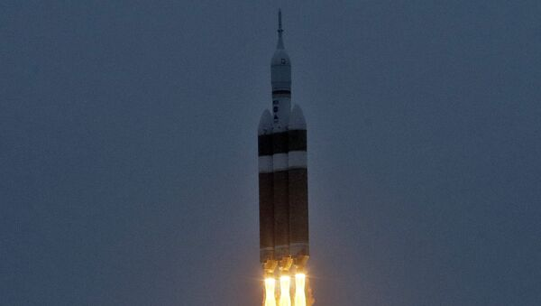Полет космического корабля Orion и тяжелой ракеты-носителя Delta-4