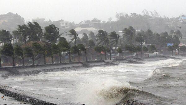 Тайфун Хагупит на Филиппинах