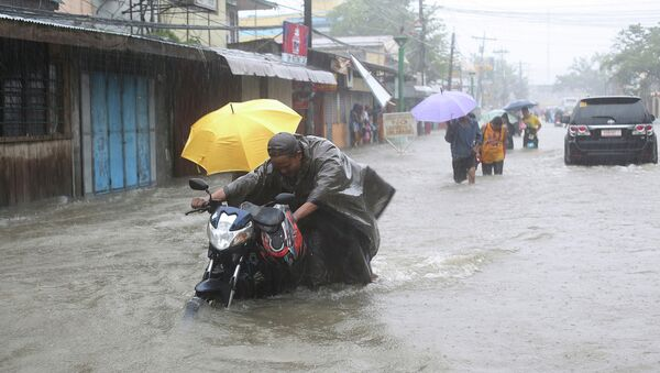 Тайфун на Филиппинах. Архивное фото