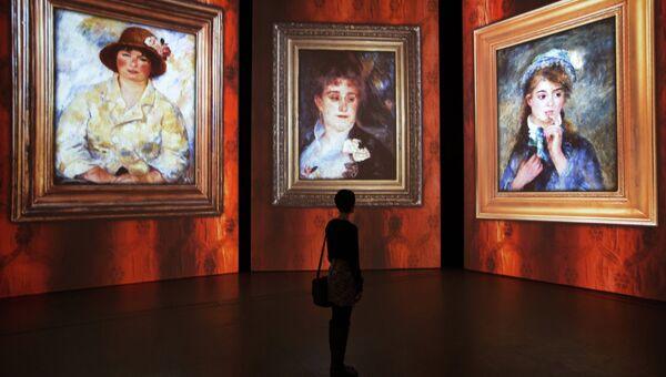 Мировая премьера мультимедийной выставки От Моне до Сезанна. Французские импрессионисты
