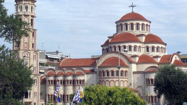 Виды Греции. Салоники. Архивное фото
