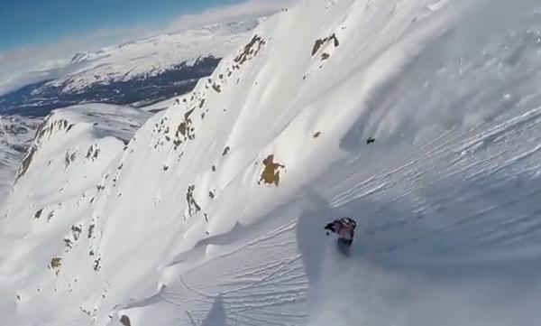 Белоснежный сноубординг, или Очень красивый спорт