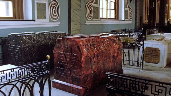 Гробница царевича Николая, сына Александра II