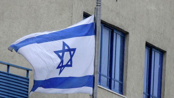 Отверстия от пуль на здании посольства Израиля в Афинах, обстрелянного 12 декабря 2014 года