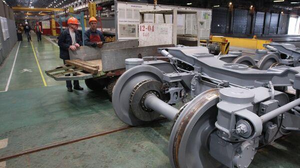 Работа вагоностроительного завода Трансмашхолдинг. Архивное фото.