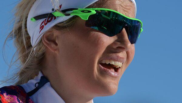 Норвежская лыжница Тереза Йохеуг. Архивное фото