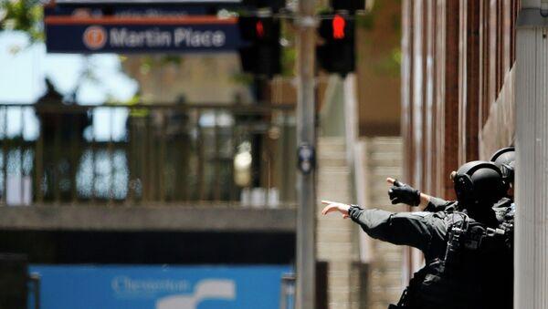 Полиция Сиднея у здания с захваченными заложниками