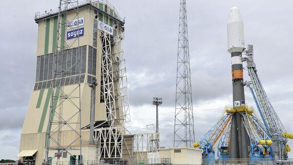 Союз-СТ-Б. Гвианский космический центр в Куру, Французская Гвиана. Архивное фото