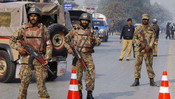 Пакистанские силы безопасности. Архивное фото