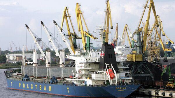 Порт в Риге