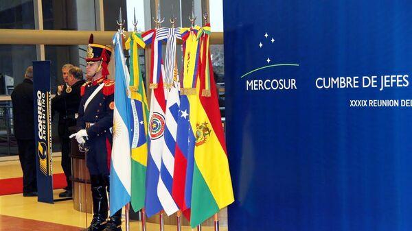 Саммит стран Южноамериканского общего рынка (МЕРКОСУР) открылся в понедельник в городе Сан-Хуан