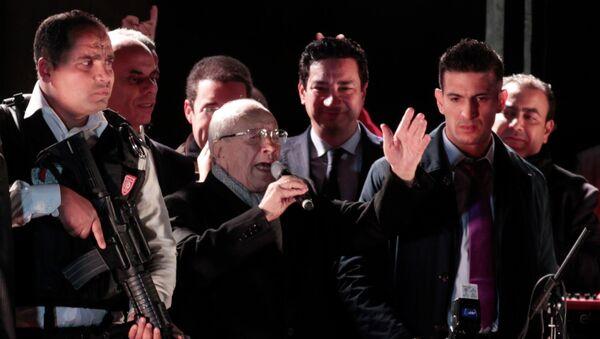 Кандидат в президенты Туниса Беджи Каид Эс-Себси