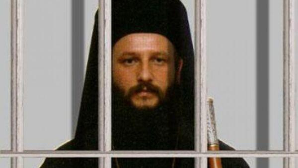 Архиепископ Охридский Иоанн (Вранишковский), арестованный в Македонии в конце 2011 года
