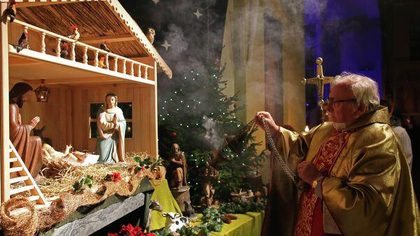 Празднование католического Рождества в регионах России