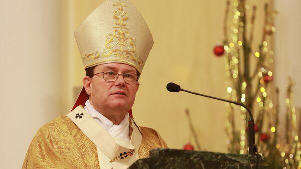 Председатель Конференции католических епископов России митрополит архиепархии Божией Матери в Москве Павел Пецци