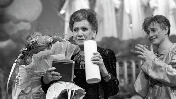 Актриса Лидия Смирнова. Архивное фото
