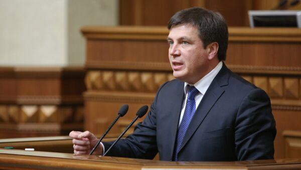 Министр регионального развития, строительства и жилищно-коммунального хозяйства Украины Геннадий Зубко. Архивное фото