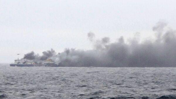 Пожар на пароме Norman Atlantic в Ионическом море
