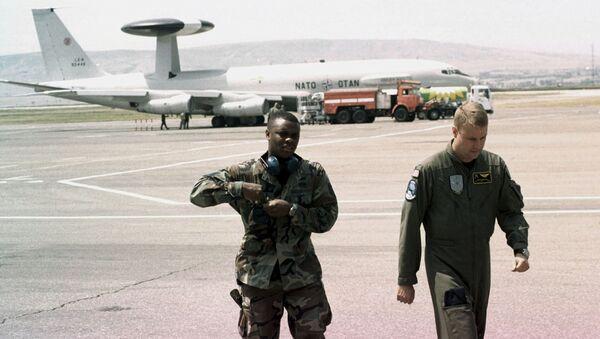 Военные инструкторы НАТО в Грузии. Архивное фото
