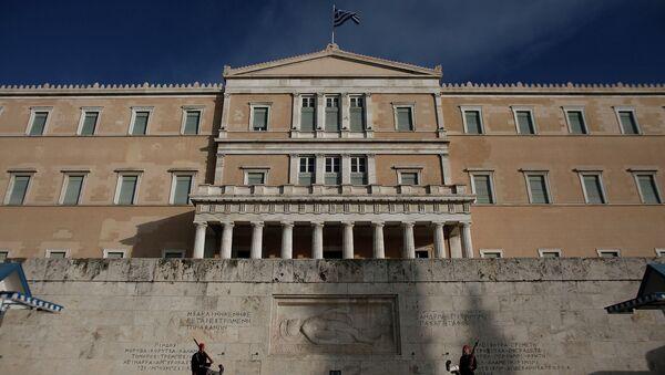 Греческий парламент. Архивное фото