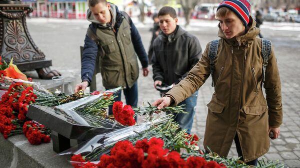 Траурные мероприятия в память о жертвах террористических актов