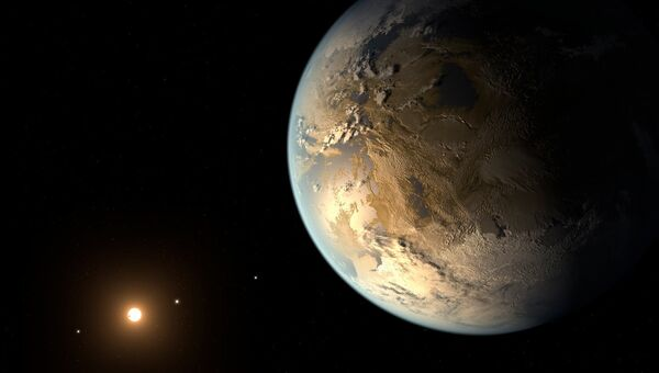 Экзопланета земного типа
