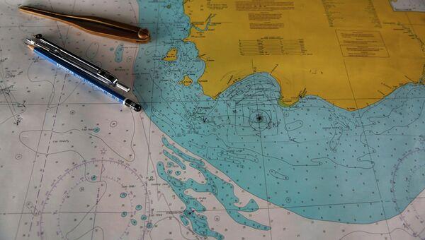 Вероятное место крушения самолета AirAsia
