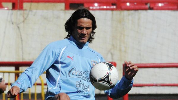 Игрок сборной Уругвая по футболу Эдинсон Кавани