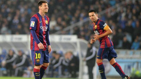 Футболисты Барселоны. Архивное фото