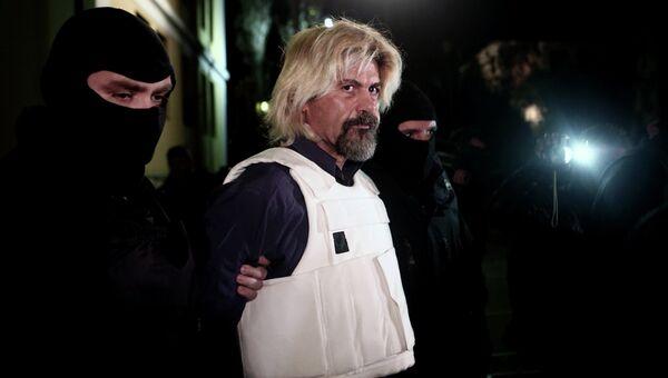Греческий террорист Христодулос Ксирос