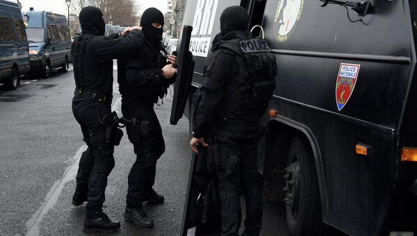 Французский полицейский спецназ (BRI)