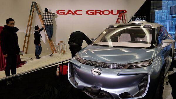 Автомобиль китайской компании GAC Group. Архивное фото