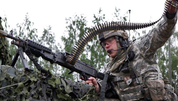 Учения войск НАТО в Литве. Архивное фото