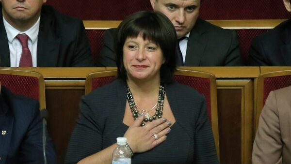 Глава Минфина Украины Наталия Яресько. Архивное фото