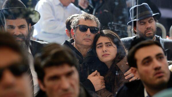 Похороны погибших в супермаркете Гипер Кашер в Париже