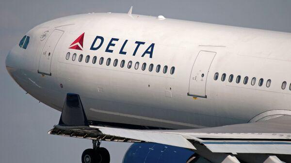Американский самолет Delta Air Lines. Архивное фото
