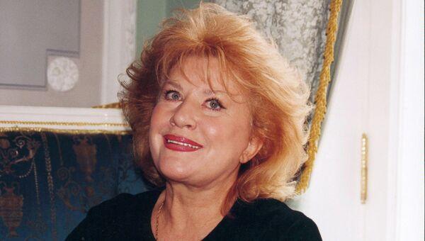 Оперная певица Елена Образцова. 2005. Архивное фото