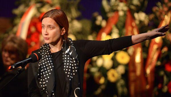 Дочь Елены Образцовой Елена Макарова. Архивное фото