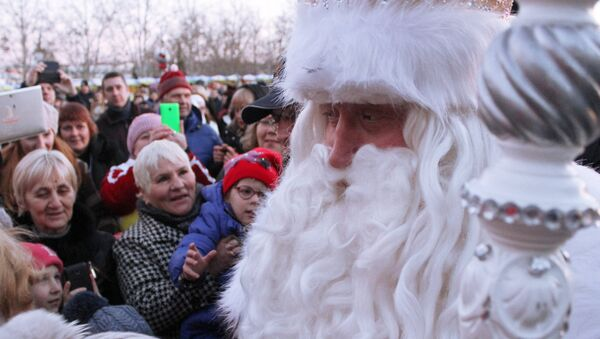 Дед Мороз в Крыму