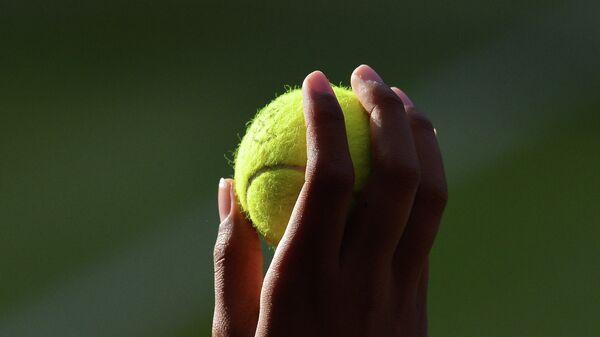 Теннисный мяч. Архивное фото
