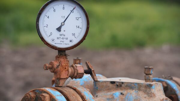 Месторождение газа. Архивное фото