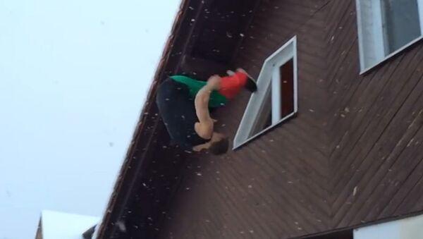 Отчаянный тип: безбашенные и виртуозные прыжки