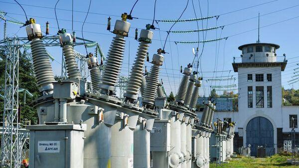 Трансформаторная электроподстанция. Архивное фото