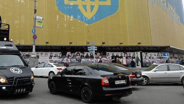 На улицах Киева. Архивное фото