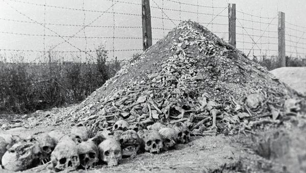 Концлагерь Майданек, архивное фото