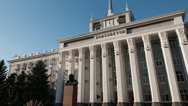 Здание Дома советов в Тирасполе, Молдавия