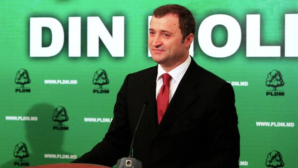 Лидер либерально-демократической партии Молдавии Влад Филат. Архивное фото